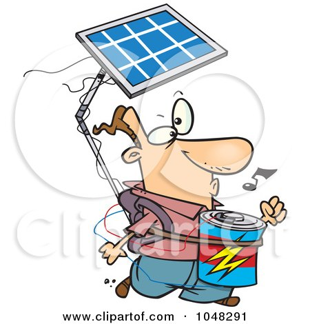450x470 Royalty Free (Rf) Solar Panel Clipart, Illustrations, Vector