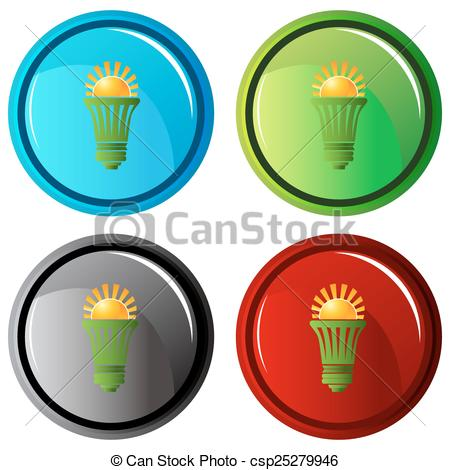450x470 Solar Energy Efficient Lightbulb. An Image Of A Lightbulb Eps