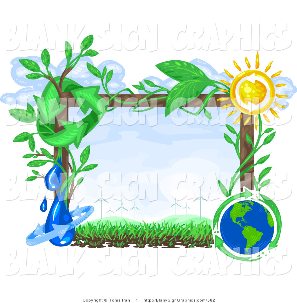 1024x1044 Vector Illustration Of A Renewable Green Energy Frame By Tonis Pan