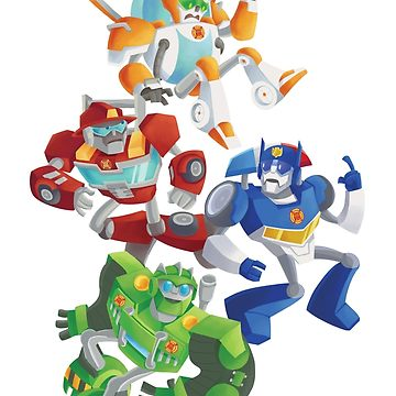 360x360 Rescue Bots Fall To The Rescue Graphic T Shirt By Glitzbot