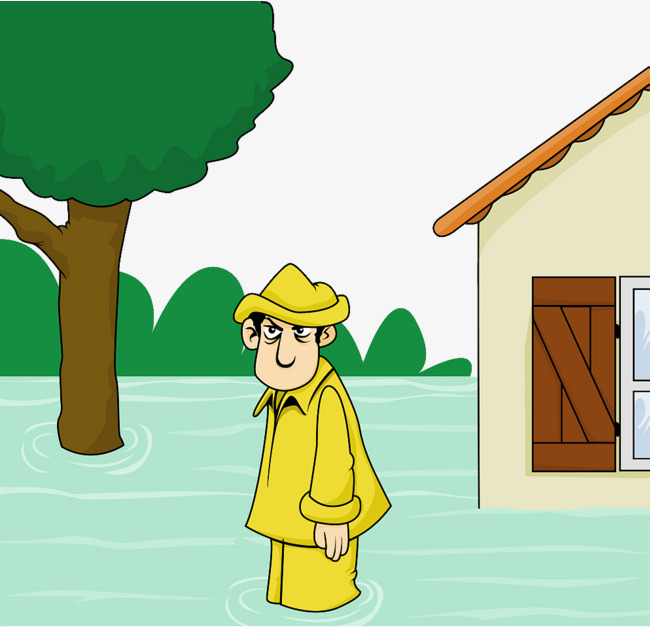 650x627 Cartoon Illustrations After Flood Relief, Cartoon Illustration