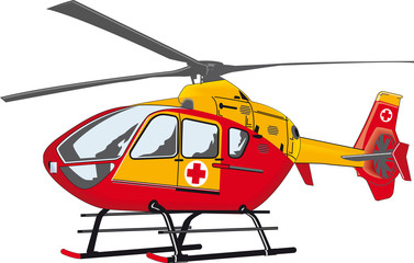 Rescue Helicopter Clipart