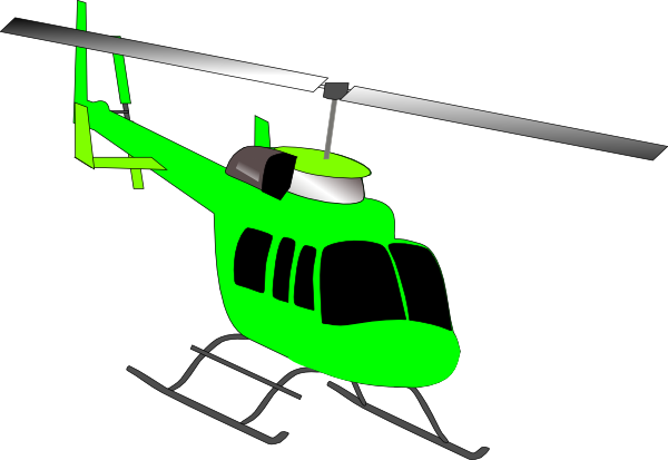 600x413 Helicopter Clip Art