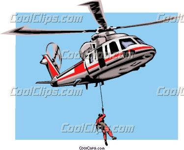 375x307 Rescue Helicopter Clipart