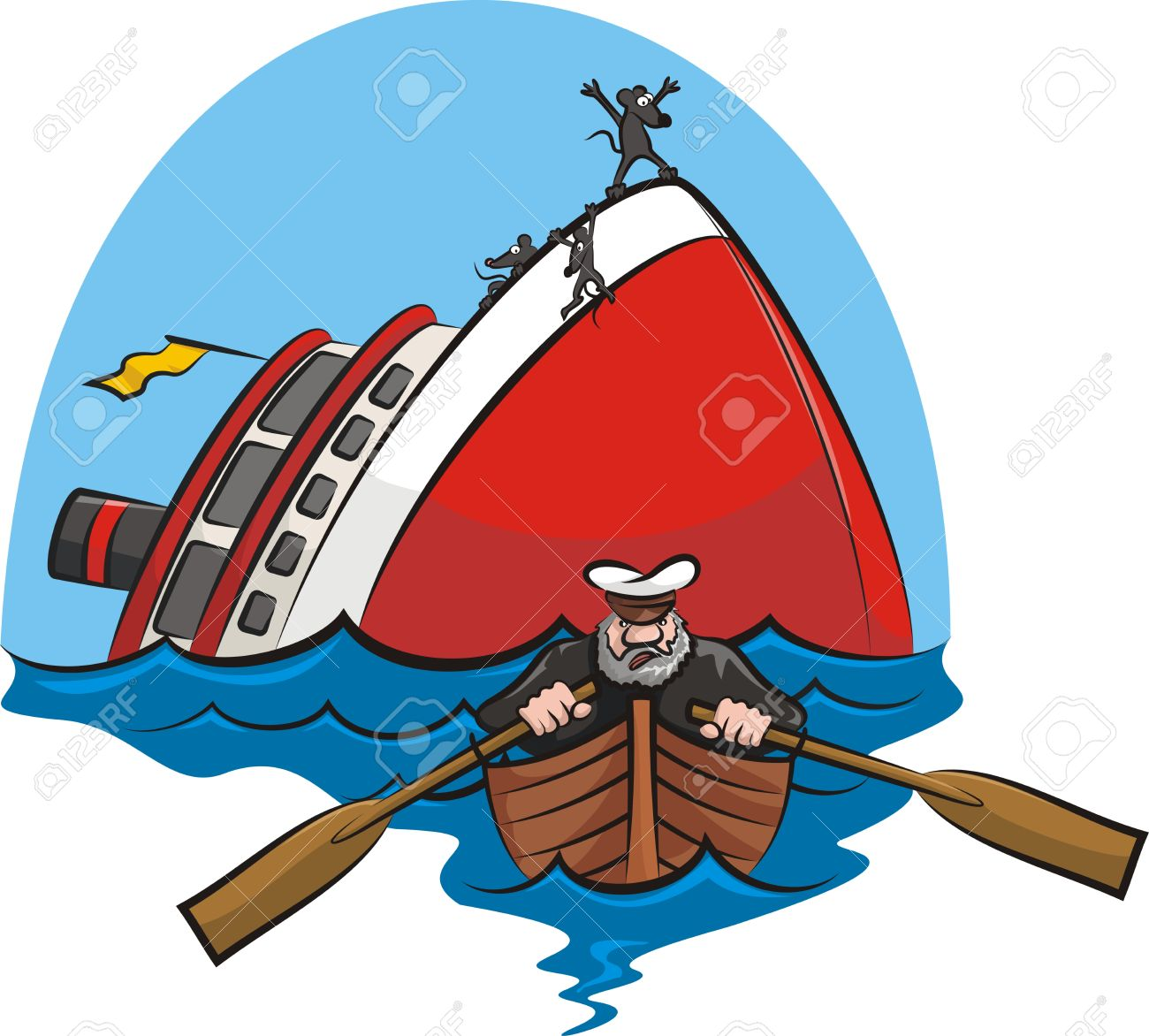 1300x1172 Sinking Ship Rescue Clipart