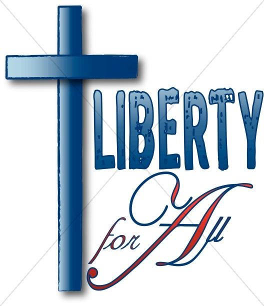 528x612 Liberty Cross Word Art Cross Word Art
