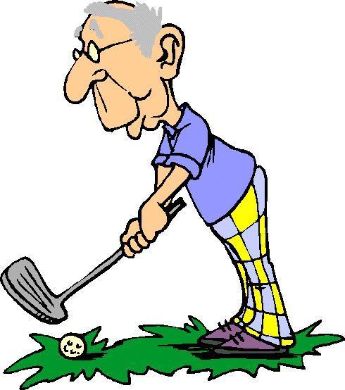 490x554 Golf Retirement Clip Art