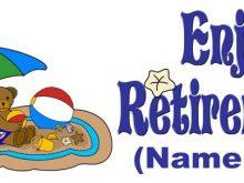 220x165 Free Happy Retirement Clip Art Retirement Clipart Farewell Images