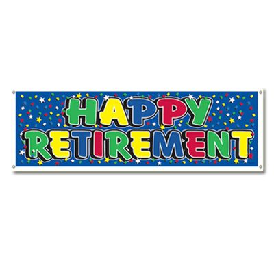 400x400 Unique Retirement Banner Clip