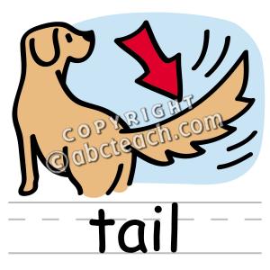 300x300 Clip Art Basic Words Tail Clipart Panda