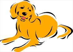 236x169 Golden Retriever Dog, Puppy Scrapbook 3d Clip Art, Clipart