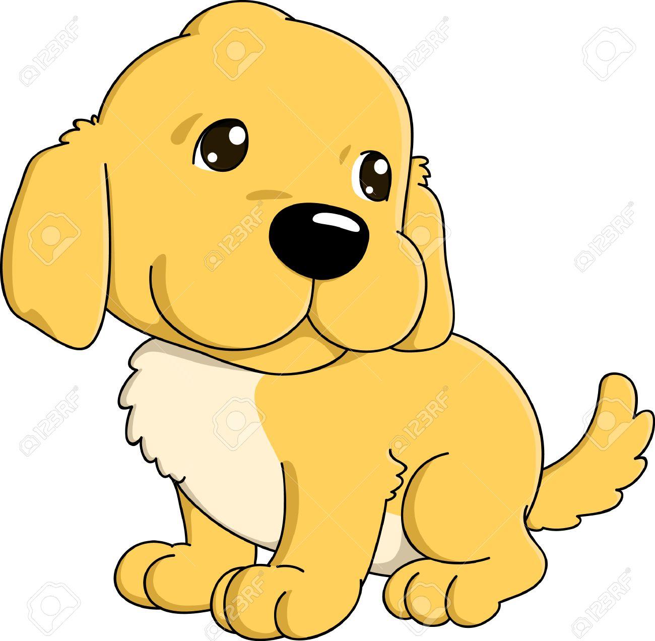1300x1272 Golden Retriever Clipart Cute