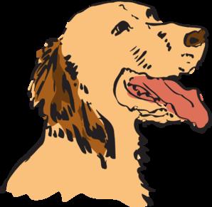 298x291 Panting Dog Clip Art