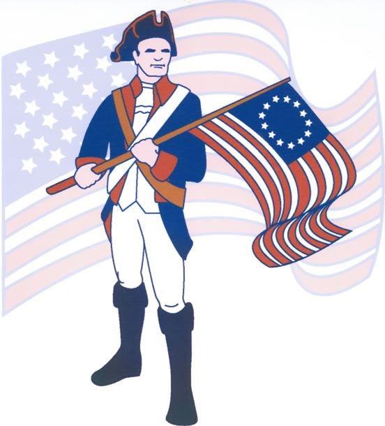 552x610 Collection Of Patriots Revolutionary War Clipart High