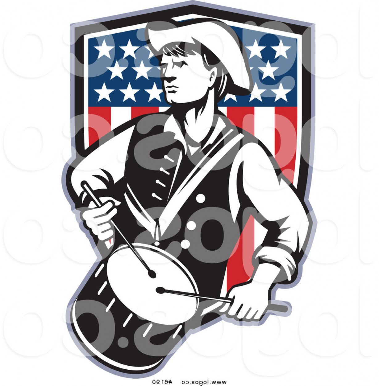 1228x1252 American Revolution Clipart
