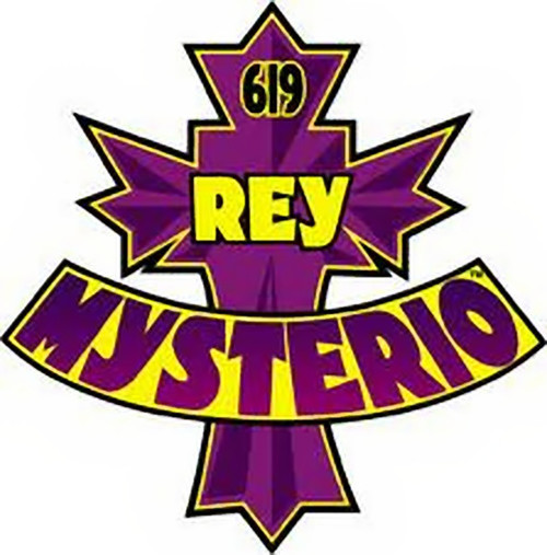 500x507 Rey Mysterio Iron On Patch 619 Logo Wwe Wrestling