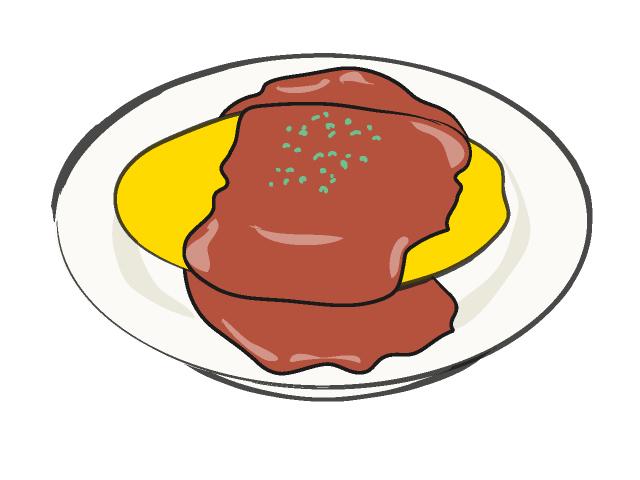 640x480 02 Omelette Rice Clip Art Clipart Panda