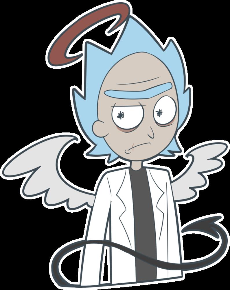 795x1005 Rick And Morty