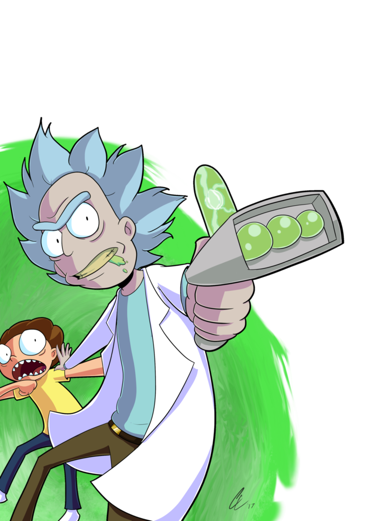 752x1063 Come Moourrrpoorty Rick And Morty Fan Art By Corythec