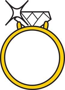 218x300 Diamond Engagement Ring Clip Art 8 Engagement Rings