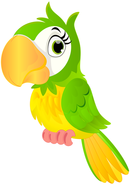 422x600 Parrot Cartoon Png Clip Art Image Png Art Images