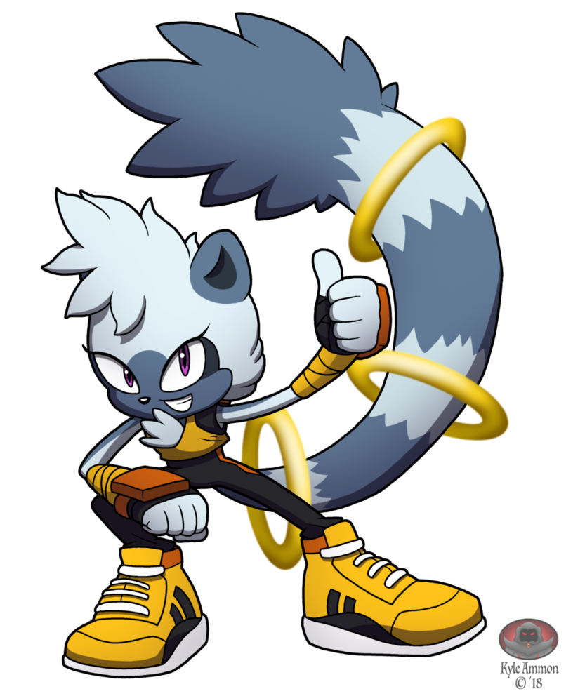 806x992 Ring Tailed Tangle By Moon Phantom