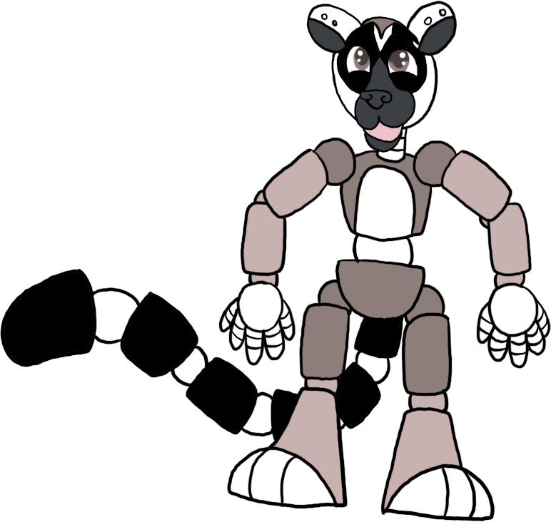 772x732 Custom Adoptable Ring Tailed Lemur Animatronic By Faithleafcat