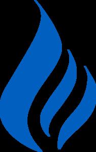 189x298 Large Flame Logo Clip Art