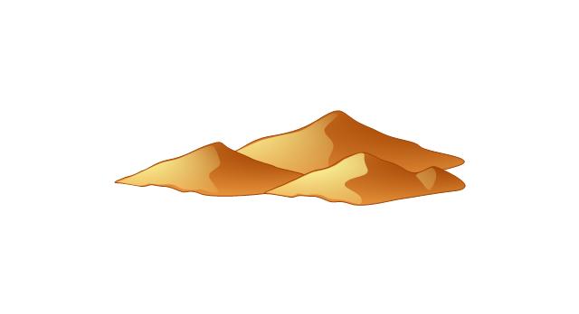 640x348 Desert Mountain Clip Art Clipart Free Download