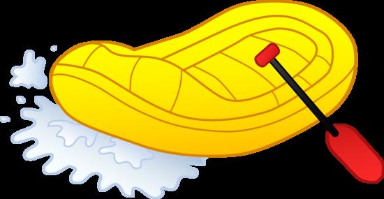 550x285 River Rafting Illustration