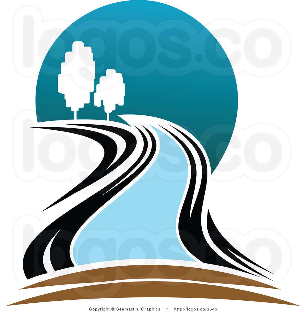 1024x1044 Calm River With Clean Water Royalty Free Vector Clip Art Image