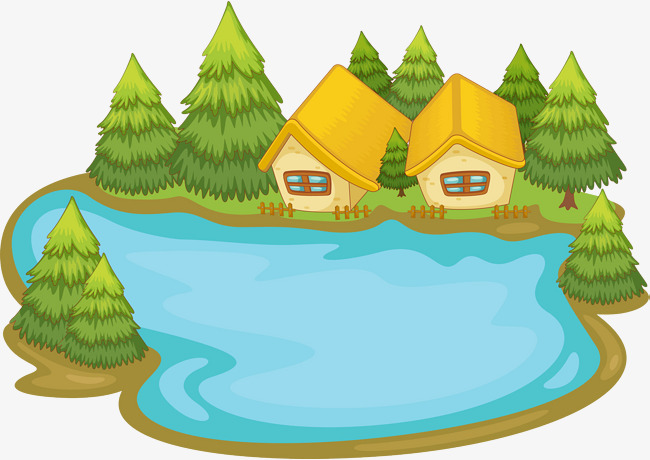 650x460 Cartoon Pond, River Water, Brook, The River Png Image And Clipart
