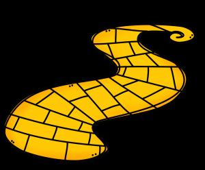 300x248 Clip Art Follow The Yellow Brick Road Clipart 25 Rvgkjvi
