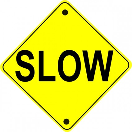 425x425 Road Sign Clipart
