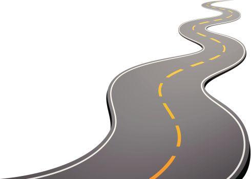 490x349 Nice Road Clip Art Curvy Road