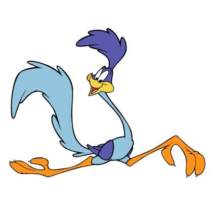 Road Runner Cartoon Clipart