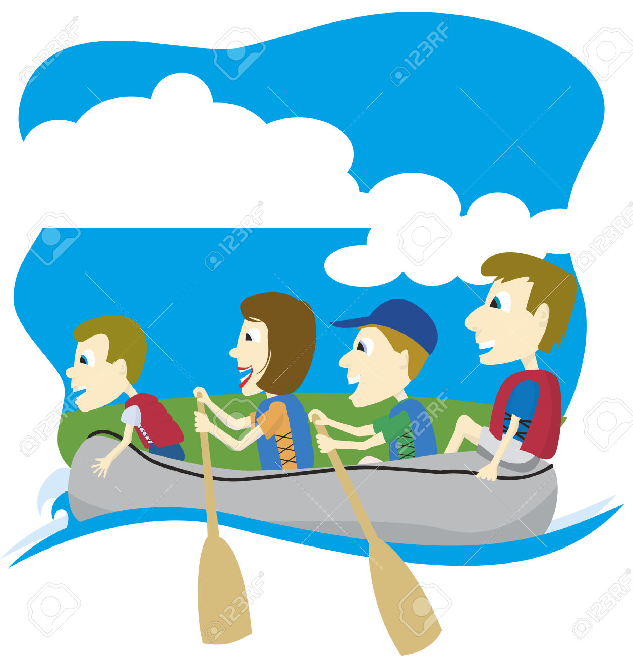 1255x1300 Floating Clipart Boat Ride
