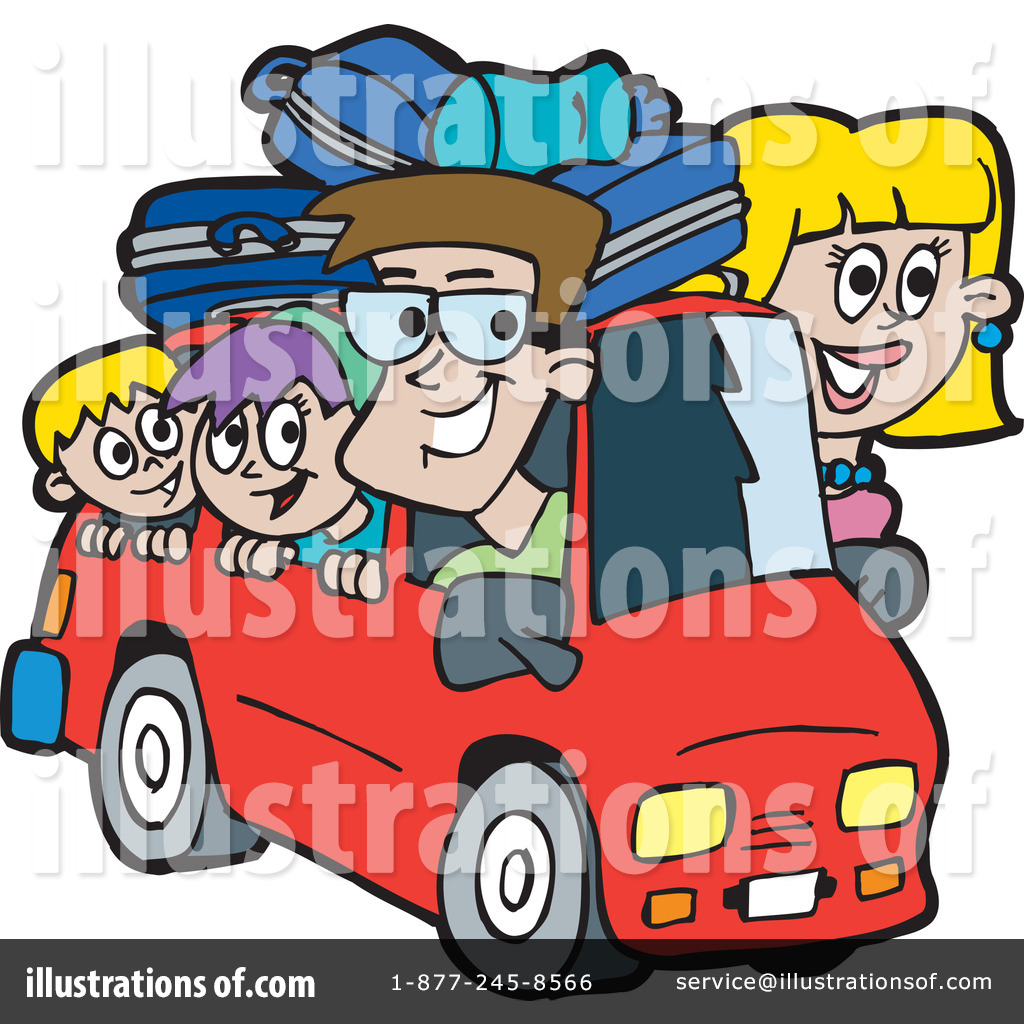 1024x1024 Royalty Free Rf Road Trip Clipart Illustration By Dennis Holmes