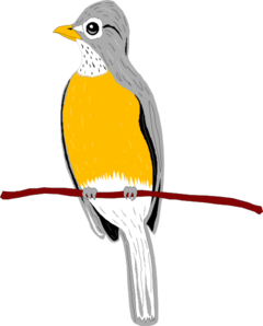 240x298 Oriental Magpie Robin Png, Svg Clip Art For Web