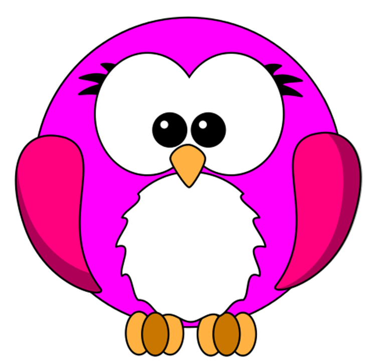 752x723 Pink Robin Cartoon Free Images