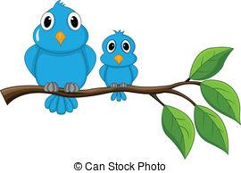 270x194 Robin Bird On Branch. Funny Robin Bird On The Tree Branch Eps