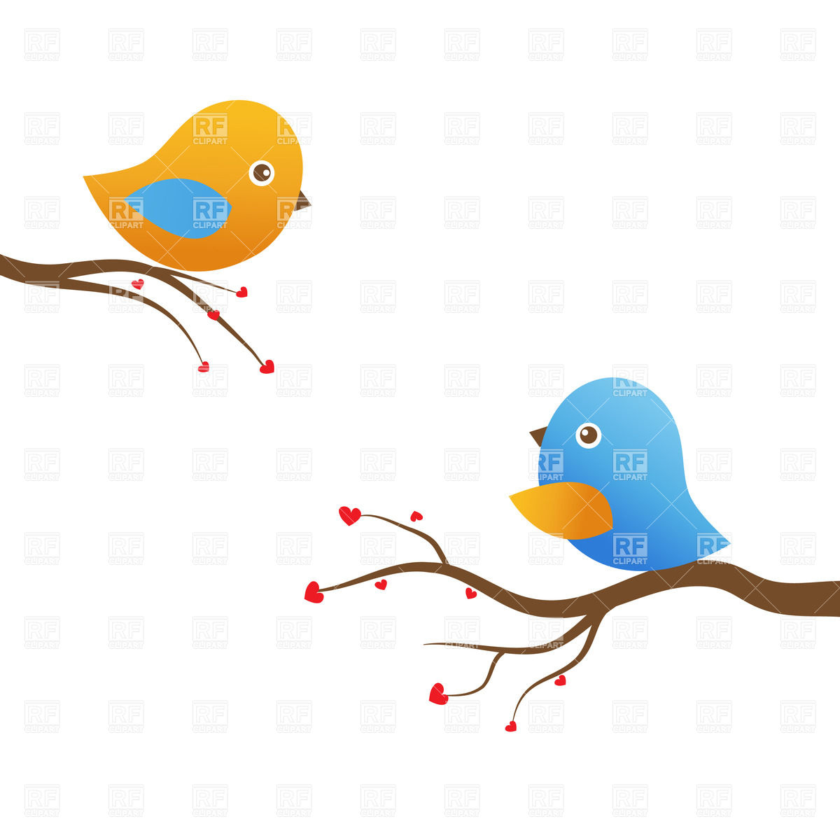 1200x1200 Two Birds Clipart Amp Two Birds Clip Art Images
