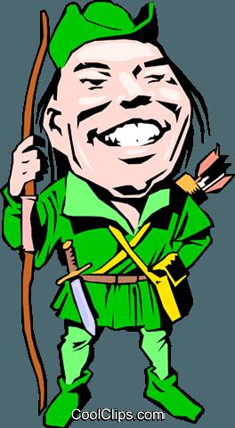 Robin Hood Clipart