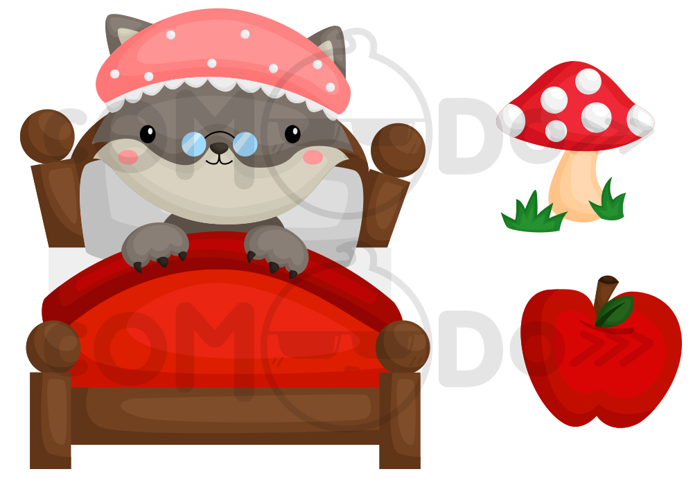 1000x700 Red Riding Hood Clipart Red Robin 3846642
