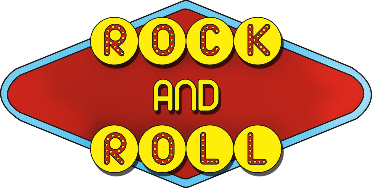 1257x636 Collection Of Rock N Roll Clipart High Quality, Free