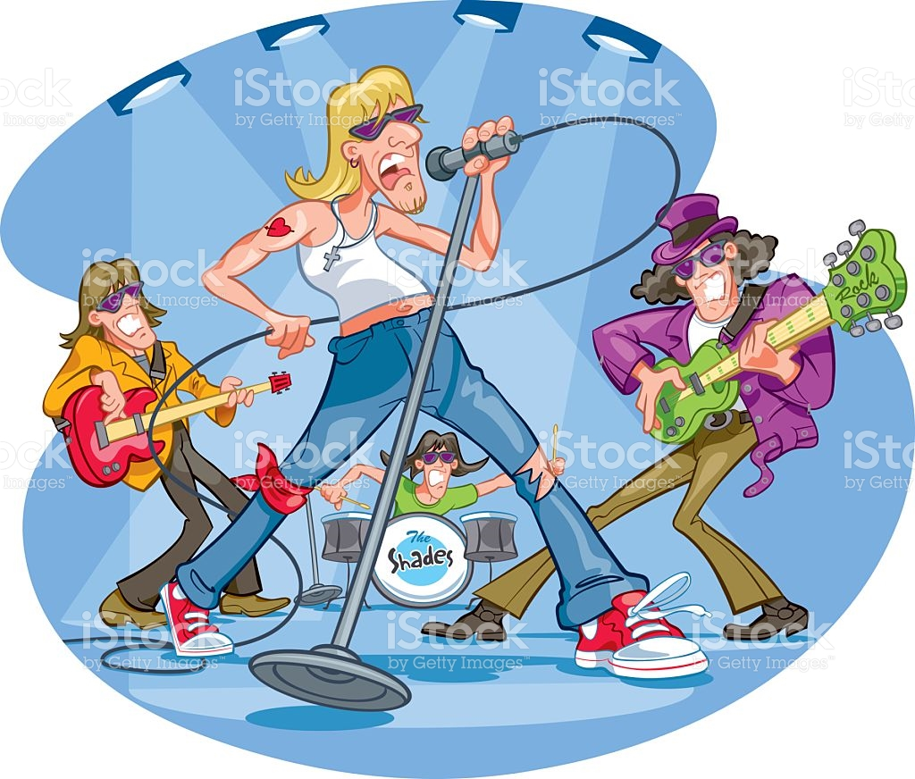 1024x872 Rock Band Clipart Gallery Images)