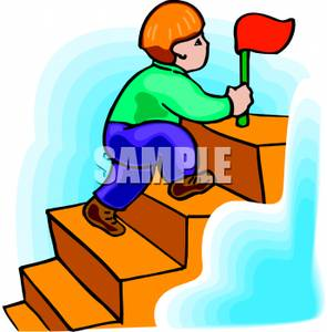 295x300 Collection Of Boy Climbing Stairs Clipart High Quality, Free