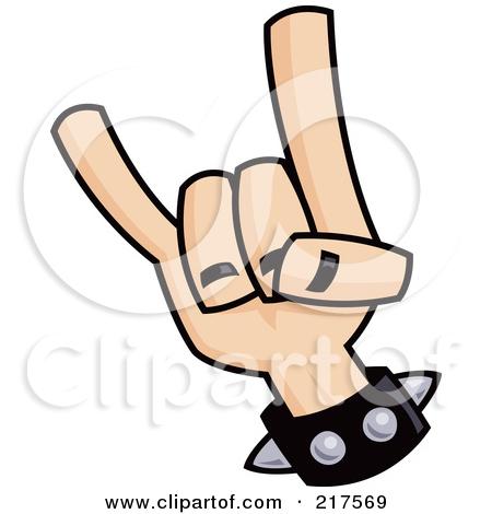 450x470 Devil Horns Hand Clip Art Clipart