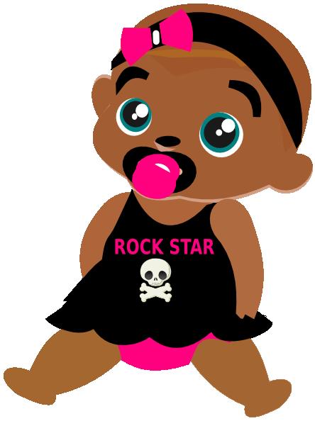 444x594 Rock Star Clip Art