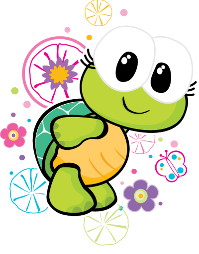 400x512 Turtle Teaching Turtle, Clip Art And Rock Painting